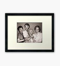 The Golden Girls Framed Print