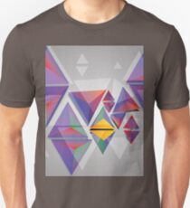 Abstract triangles 3 Unisex T-Shirt