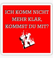 Kraftklub - Keine Nacht für Niemand - Chemie Chemie Ya Sticker