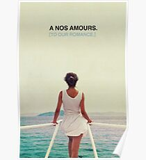 A nos amours Poster