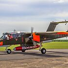 North American Bronco G-ONAA 99+18 taxying by Colin Smedley
