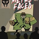 Metal Faced - Comic Cover by Ben Rhys-Lewis