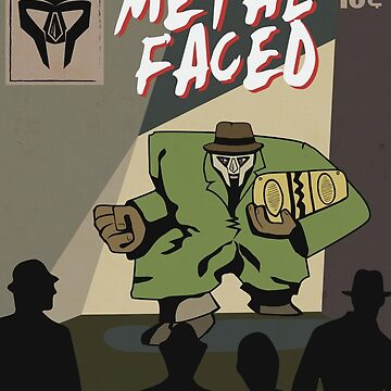 Metal Faced - Comic Cover by oSYZYGYo
