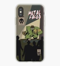 Metal Faced - Comic Cover iPhone Case