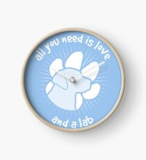 All you need is love and a LAB - Blue Clock