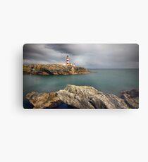 Eilean Glas Lighthouse, Western Isles. Metal Print