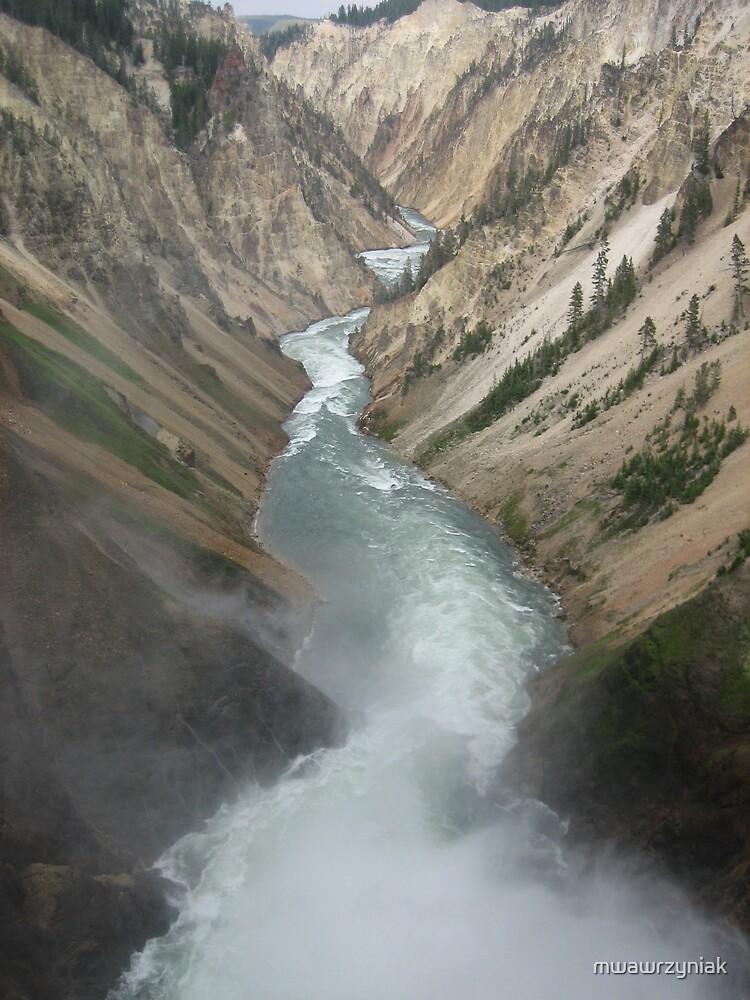 The Grand Canyon of Yellowstone by mwawrzyniak