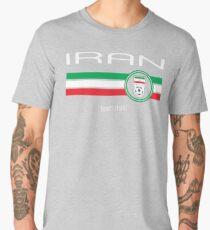 Football - Iran (Away Red) Men's Premium T-Shirt