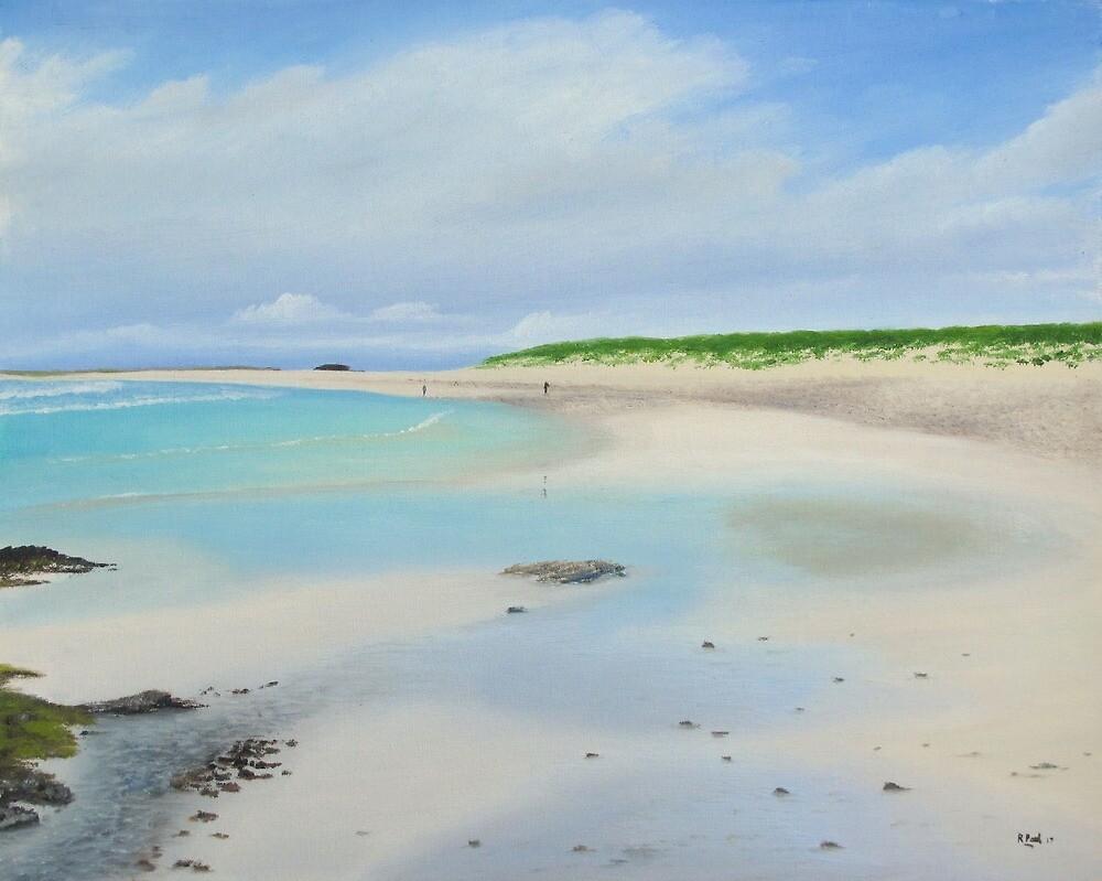 Traigh Nan Gilean - Tiree by Richard Paul
