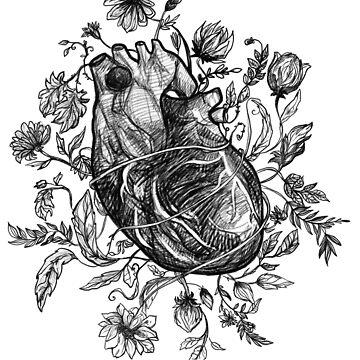 My Heart is a Wildflower by Wildflower-Art