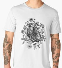 My Heart is a Wildflower Men's Premium T-Shirt