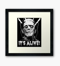 Frankenstein's Monster, It's Alive - Boris Karloff. Framed Print