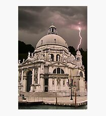 Storm in Venice Photographic Print