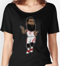 James Harden Cartoon Style Women's Relaxed Fit T-Shirt