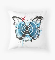 rewind life is strange Throw Pillow