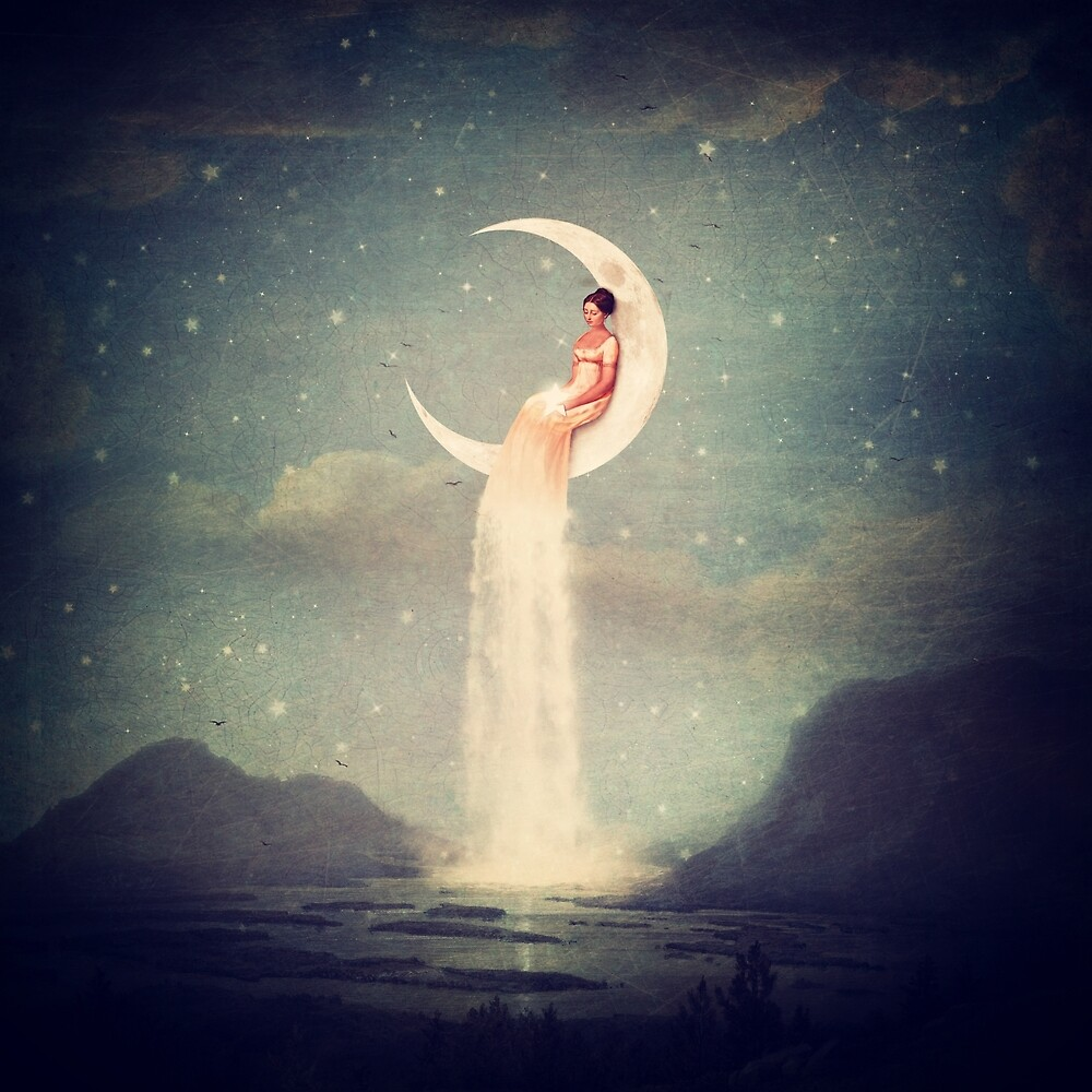 "Moon River Lady"" by Paula Belle Flores 