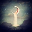 Moon River Lady by Paula Belle Flores