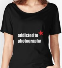 Photography Tshirts Women's Relaxed Fit T-Shirt