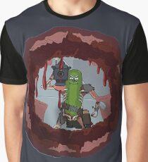 Pickle Rick Blast! Graphic T-Shirt