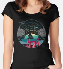 Old Tales... Women's Fitted Scoop T-Shirt