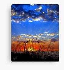Dog Days Sunset Eight Canvas Print