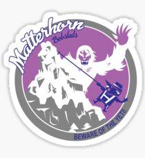 Matterhorn Bobsleds (purple, blue, gray) Sticker