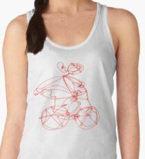 Open Road - Biking A Red Women's Tank Top