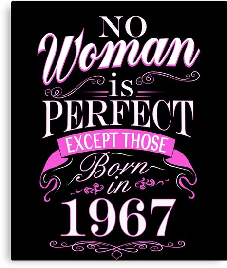 50th Birthday Gift Women Is Perfect 1967 50 Year Old By SpecialtyGifts