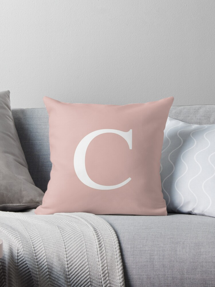 Rose Gold Basic Monogram C by rewstudio