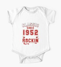 Classic Since 1952 Vintage 65th Birthday Pun Gift Kids Clothes