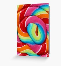 Lollipop, lollipop - pink edition Greeting Card