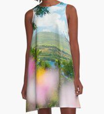 Colors  A-Line Dress