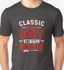 Classic Since 1967 Vintage 50th Birthday Pun Gift T-Shirt