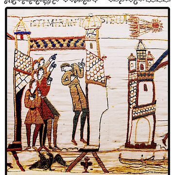Bayeux Tapestry Halley's Comet – Circa 1066 by In-Situ