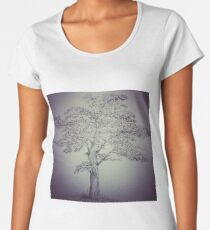 Pen&Ink Tree Women's Premium T-Shirt