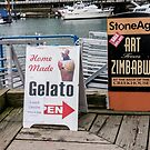 Sandwich Boards and others by Gabriele Maurus