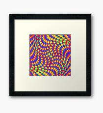 Color Waves Framed Print