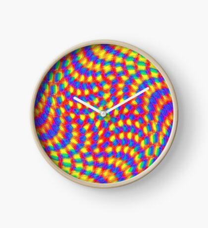 Color Waves Clock