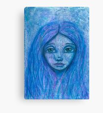 ghost girl Canvas Print
