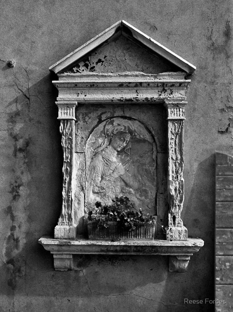 Wall Niche In Venice #2 by Reese Forbes