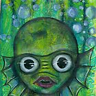 Creature from the black lagoon by lenaliluna