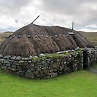 Thatched Blackhouse, Isle of Lewis by Maria Gaellman