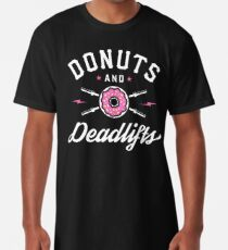 Donuts und Deadlifts Longshirt