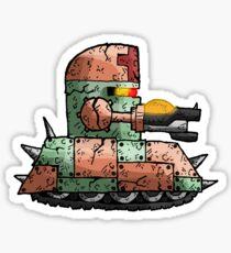 tankbot I... Sticker