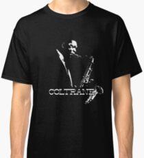 HD Trane - John Coltrane - b&w plain design HIGH DEFINITION Classic T-Shirt