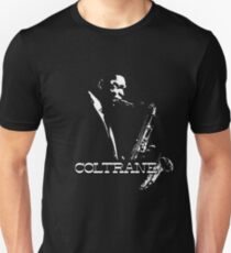 Trane - John Coltrane - b&w plain design T-Shirt