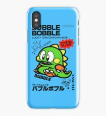 Bubble Bobble (Japanese Art) iPhone Case/Skin