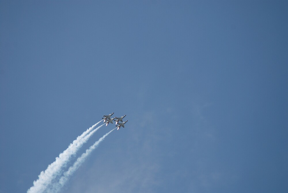 At The Air Show by Robert Baker
