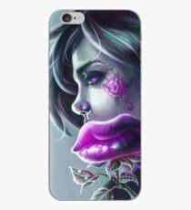 """Lip Bouquet"" - Illustration (Joker Version) iPhone-Hülle & Cover"