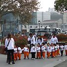Chinese school children by Patrick Czaplewski